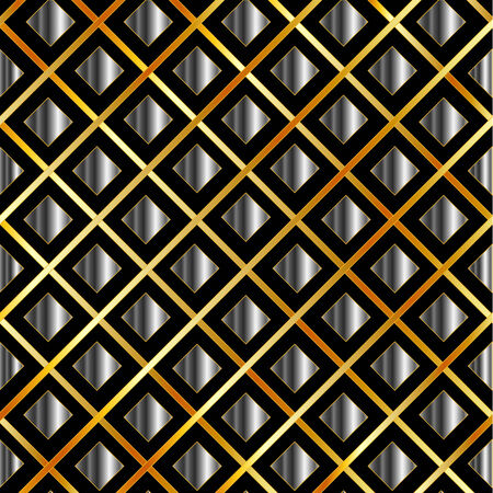 argentum:  Gold and silver grid background