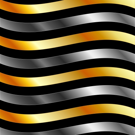 aurum: High grade metal wave background