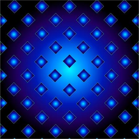 Blue metal grid background Stock Vector - 24146120