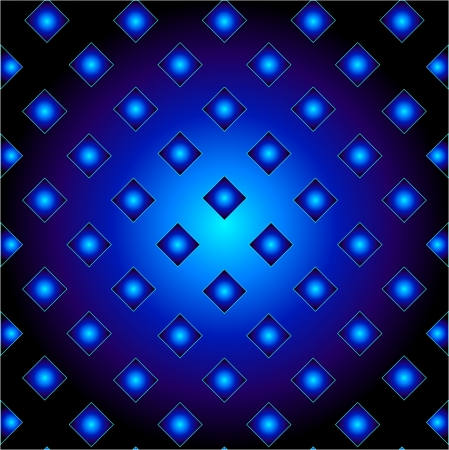 Blue metal grid background Stock Vector - 24146120