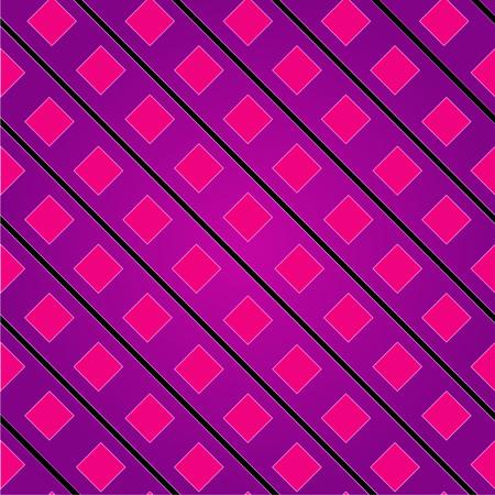 Achtergrond met roze vierkantjes Stock Illustratie