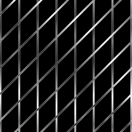 argentum: Silver metallic grid background Illustration
