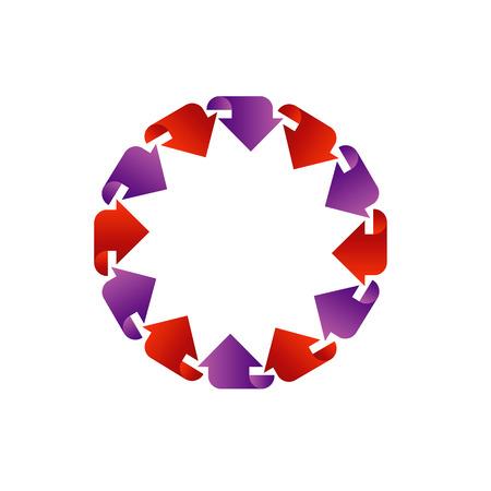 Circular design element 向量圖像