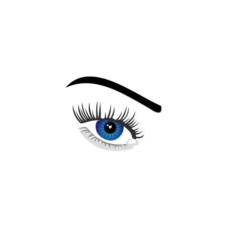 Contact lens eye