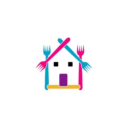 restaurateur:   restaurant or a cafe Illustration