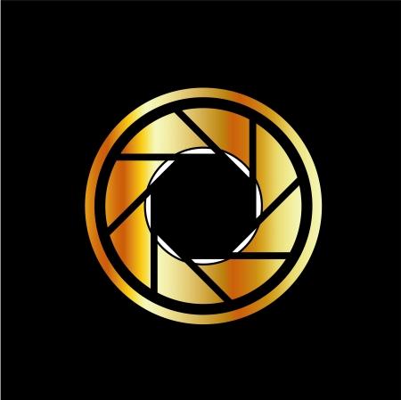 Cámara digital-photography Logotipo Foto de archivo - 24774072