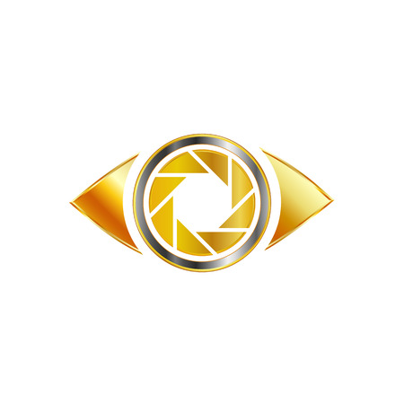 photography logo: Golden Eye photography logo