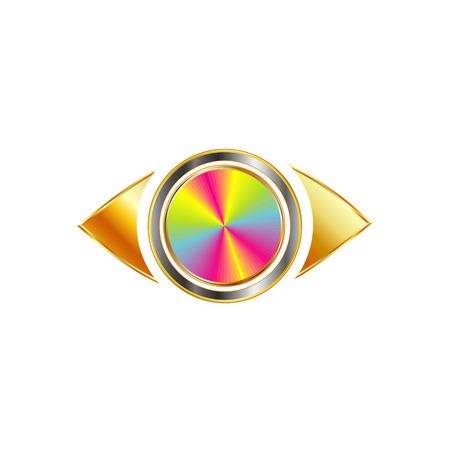 photography logo: Golden Eye photography logo