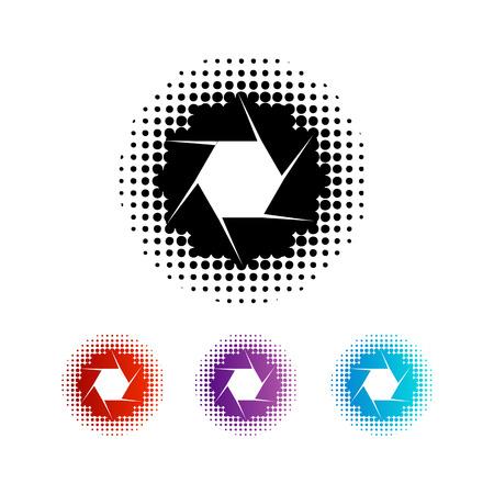 写真撮影絞りロゴ