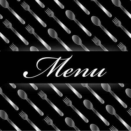 restaurateur: Restaurant menu  Illustration
