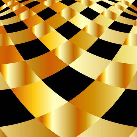 Gold fractal achtergrond