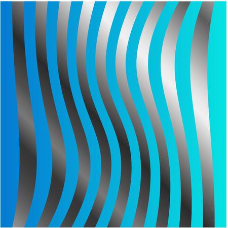 argentum: wave background Illustration