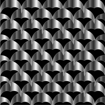 Stainless steel tile background Stock Vector - 26328395