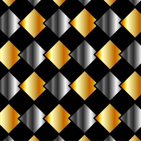 argentum: Metallic tiles background