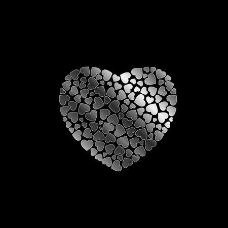 fillings: silver heart fillings