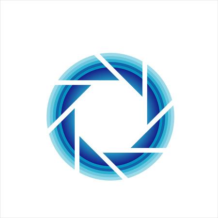 Photography lens symbol Illustration