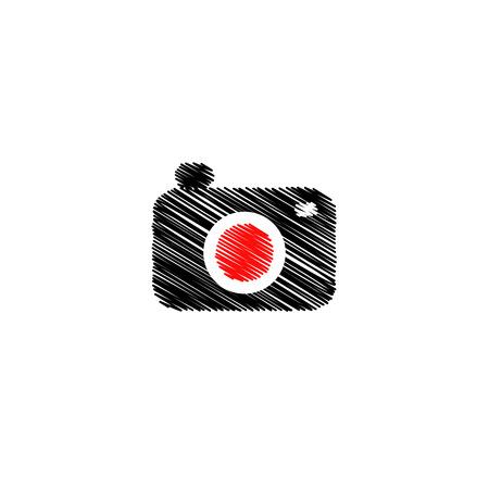 Digitalkamera-Symbol Standard-Bild - 26328510