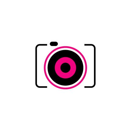 Digitale Camera symbool Stock Illustratie