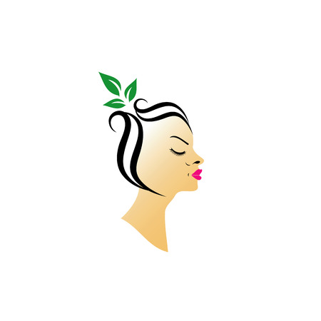 Organic hair spa  Vector