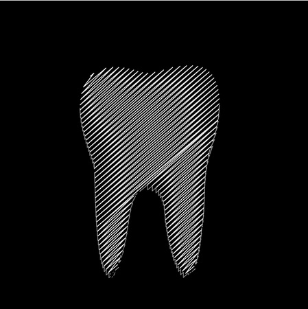 fluoride: Tooth graphic for dentist