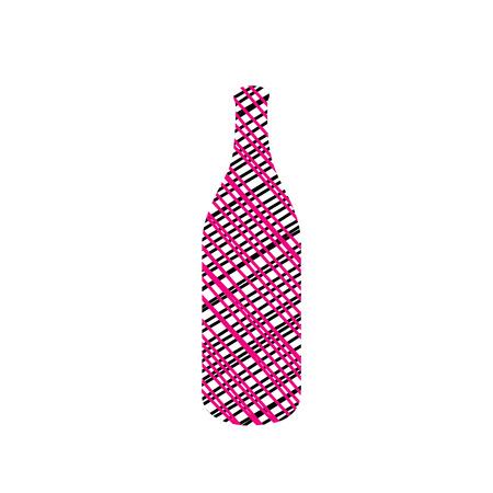 Sketched bottle Vector