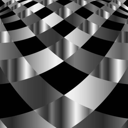 parallelogram: Alto grado de fondo de metal Vectores