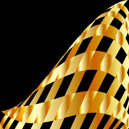 parallelogram: Fondo de cuadros de Oro Vectores