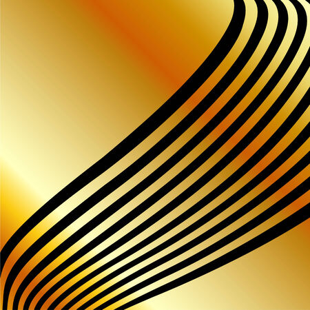 gold wave background