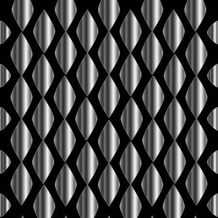 metallic background: Metallic tile background Illustration