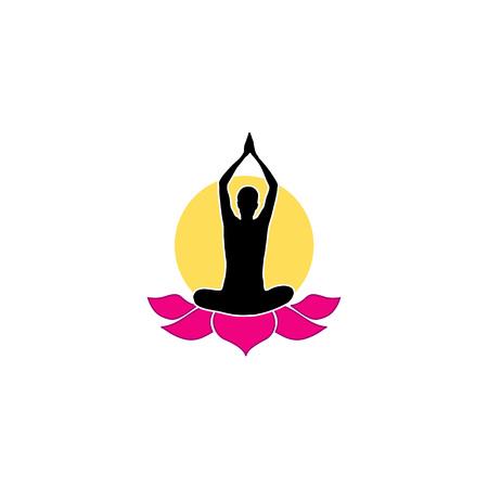 shiatsu: yoga  Illustration
