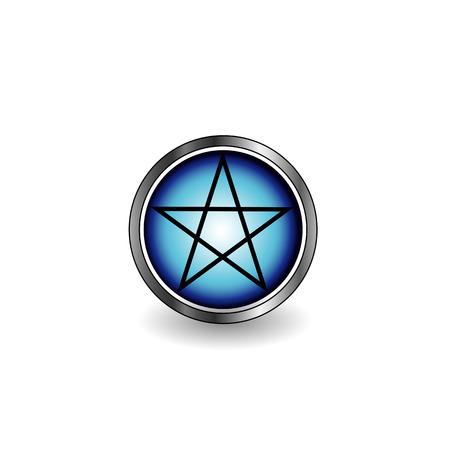 satanist: Pentacle Illustration