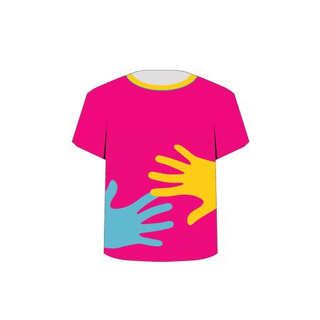 Printable tshirt- Pop art graphic Vector