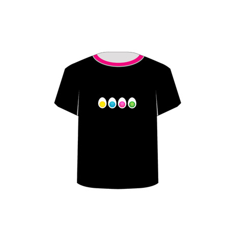 tees graphic tees t shirt printing:  T Shirt Template- colorful eggs