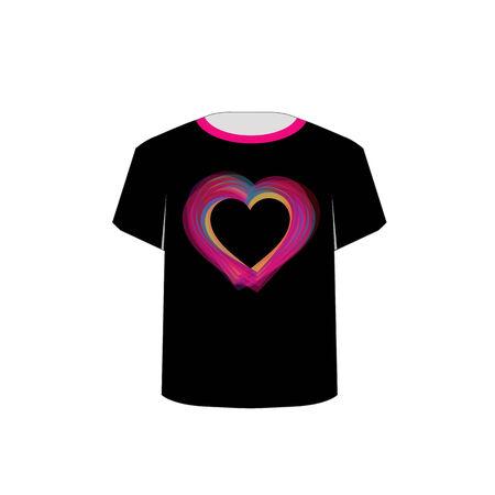 printable: Printable tshirt graphic- Valentine Illustration