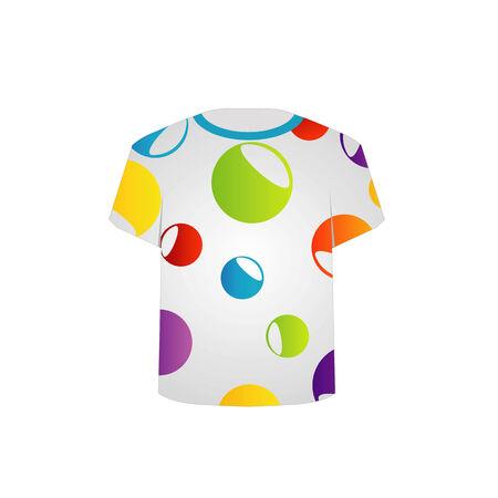 T-Shirt-Druck-Grafik fraktale Kunst Standard-Bild - 26466574