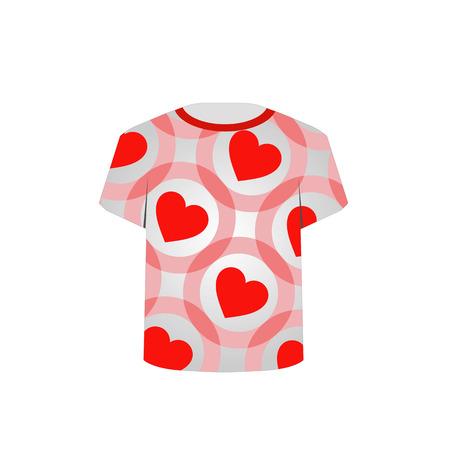 printable: Printable tshirt graphic- Valentine hearts