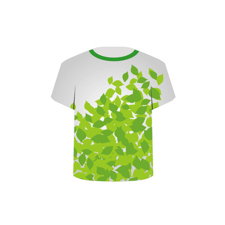 tees graphic tees t shirt printing: T Shirt Template- Spring leaves