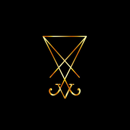 Sigil Of Lucifer Gold