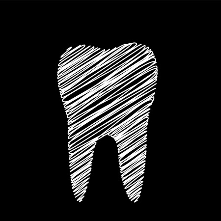 rotten teeth: Tooth graphic for dentist