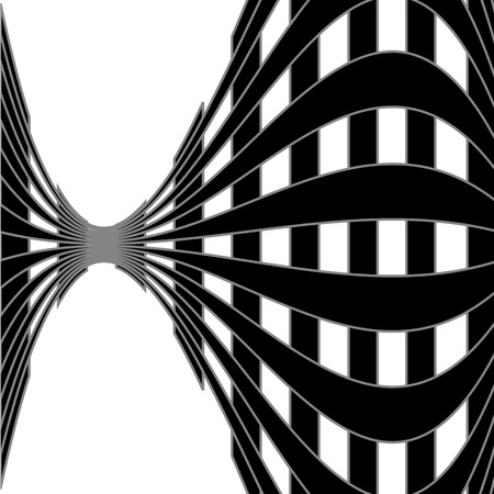 Optical illusion for hypnotherapy Vettoriali