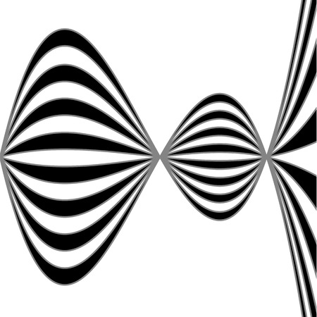Optical illusion for hypnotherapy Vector