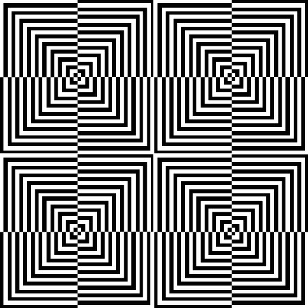 Optical illusion for hypnotherapy Illustration