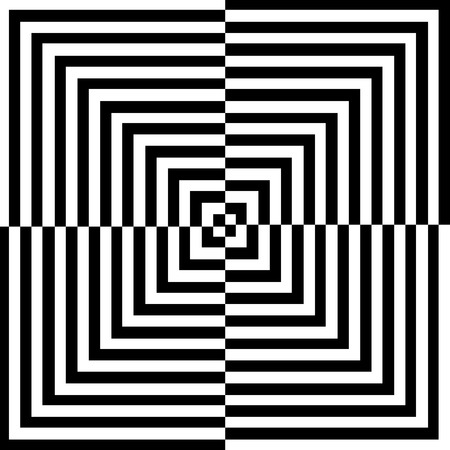 third eye: Optical illusion for hypnotherapy or psychic