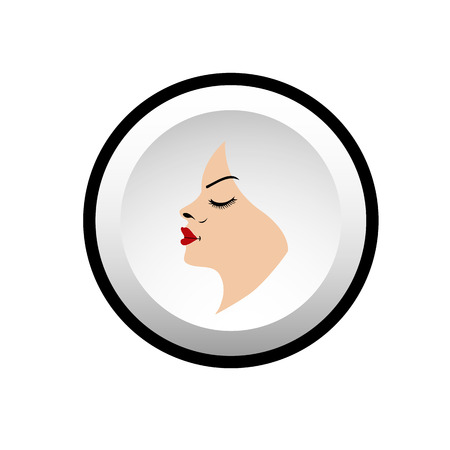 Illustration for beauty salons  Vector