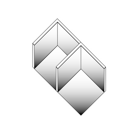 Isometric section of 3d spaces Vector