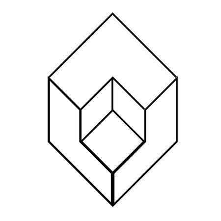 Isometric object Vector