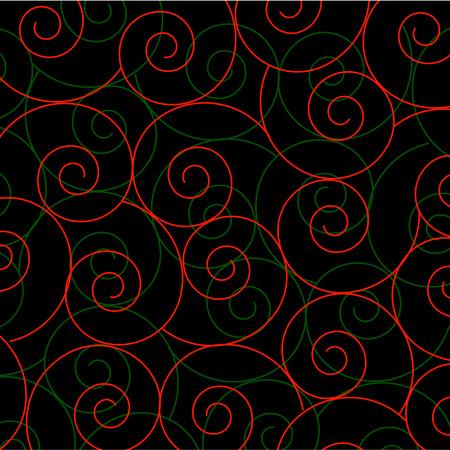 Spiral helix background