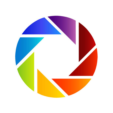 rainbow colored photography