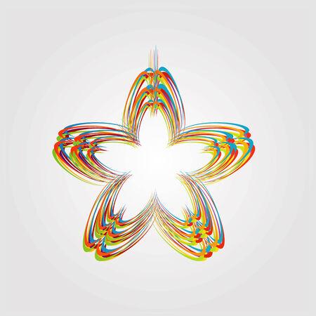 Abstrakte bunte Design-Element Standard-Bild - 35020476