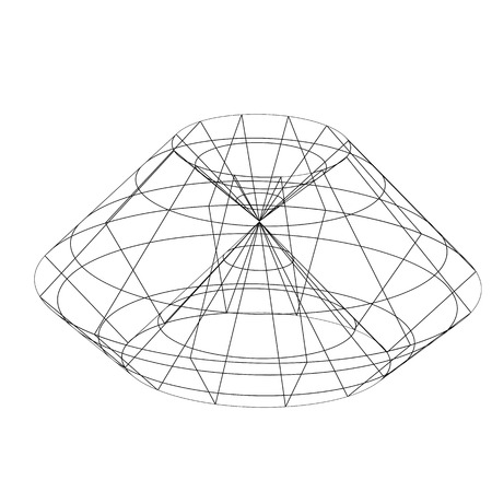 ovoid: 3d wireframe render object